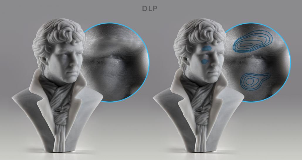 SLA و DLP: راهنمای پرینترهای رزینی